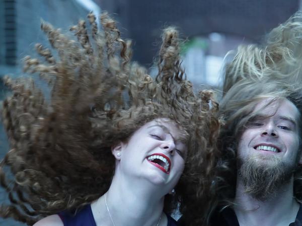 The Hair duo Vera Hofman Sjors van der Mark Gaudeamus
