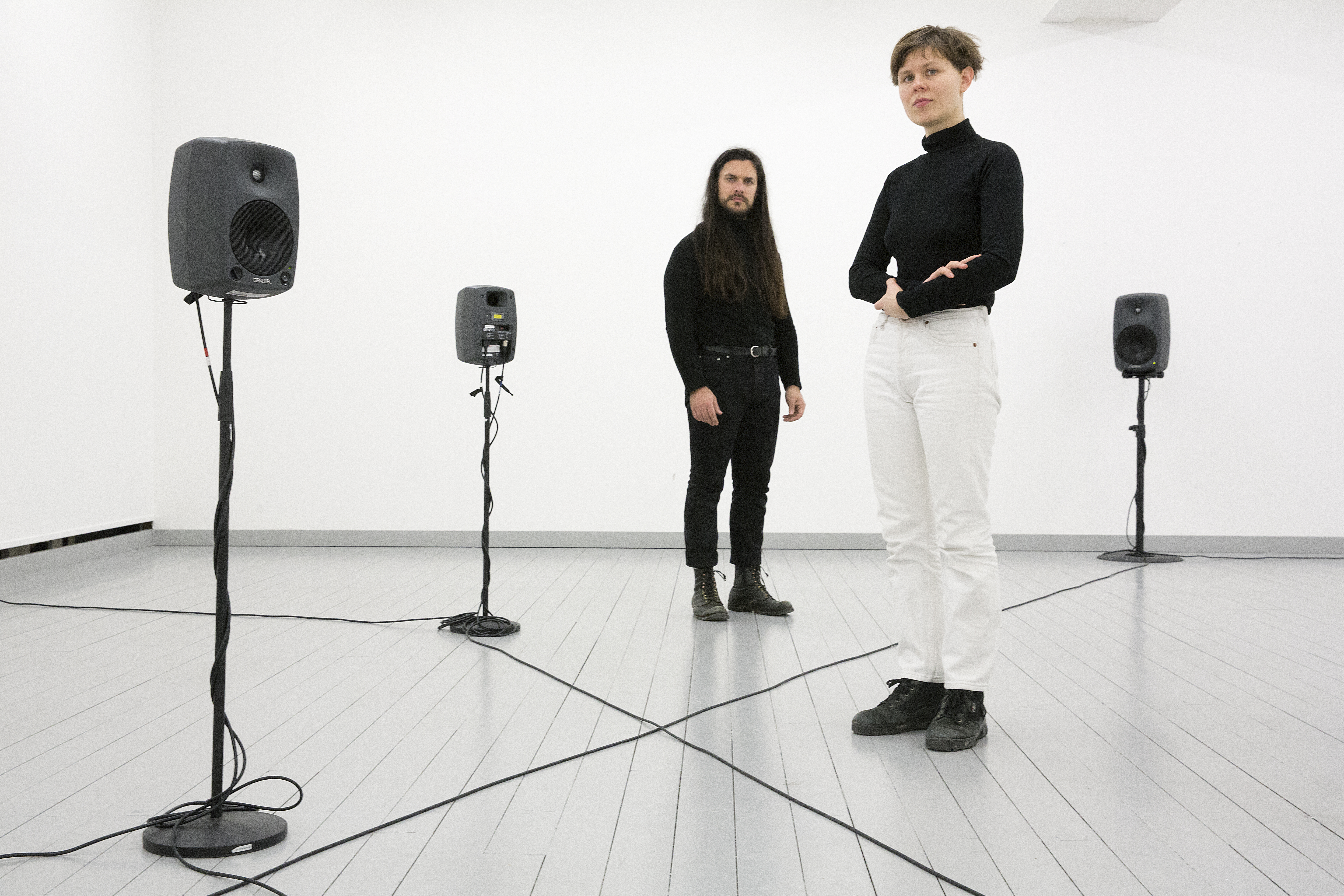 Ragnhild May and Stefan Maier at Inter Arts Center in Malmö